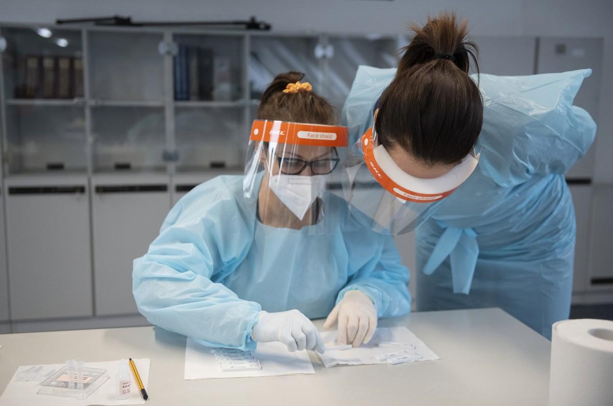 Koronavírus-teszt Debrecenben