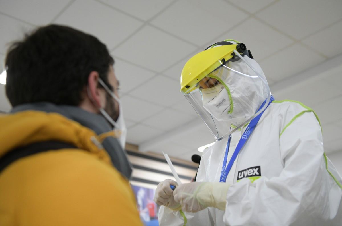 Wizz Air koronavírus-szűrés Debrecenben